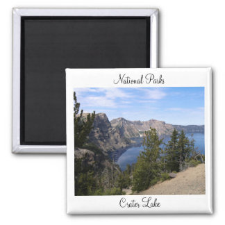 National Parks - Crater Lake Magnet
