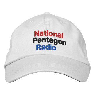 National Pentagon Radio Embroidered Baseball Cap