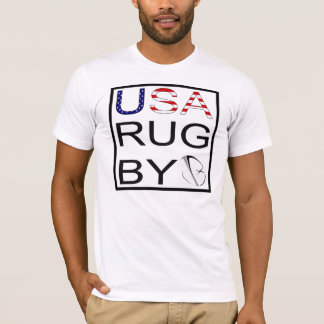 NATIONAL PRIDE Series (USA-st/strp jbRUGBY) T-Shirt