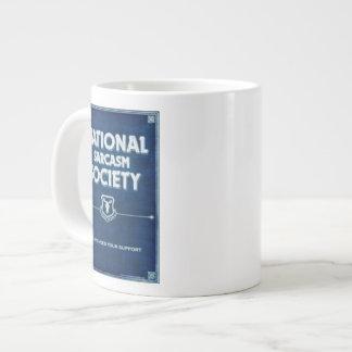 National Sarcasm Society Jumbo Mug