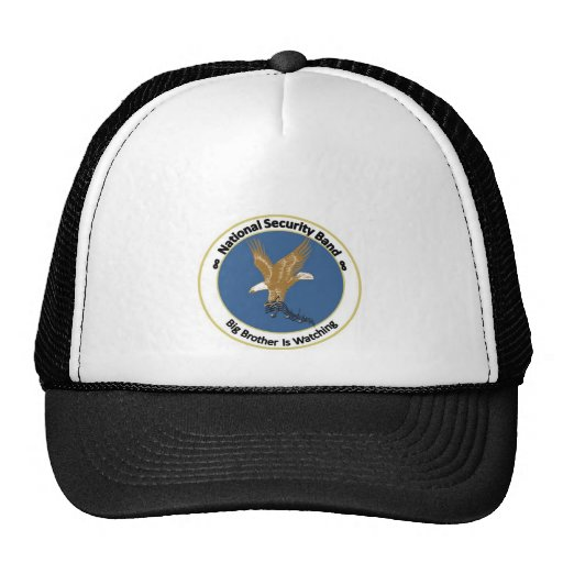 National Security Band Mesh Hats