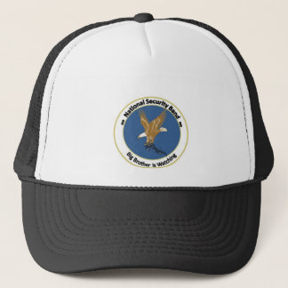 National Security Band Trucker Hat