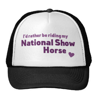 National Show Horse Trucker Hat