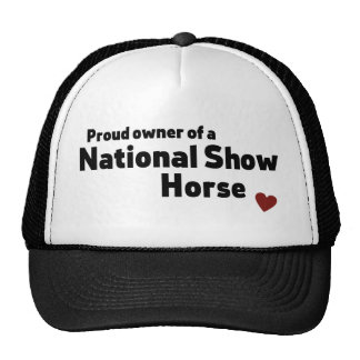 National Show Horse Cap