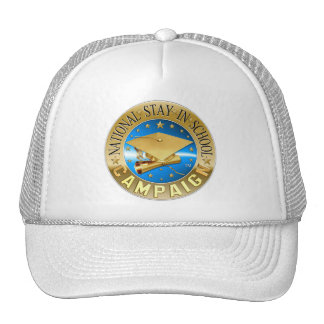 National Stay In School B-Ball Cap