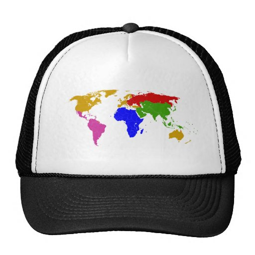 nations grouped trucker hats