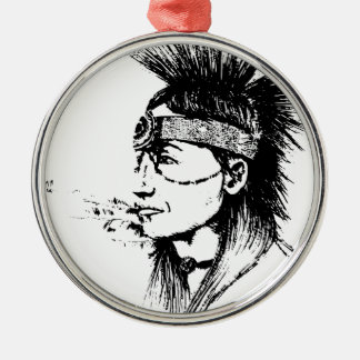 NATIVE AMERICAN CHRISTMAS ORNAMENT