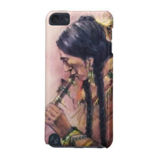 Native American Flute Player iPod Touch case