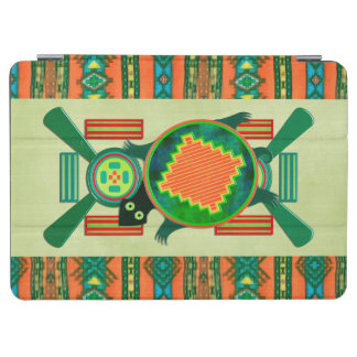 Native American Folk Art Turtle iPad Air Cover