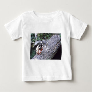 Native American Indian Boy with Wolf T-shirt