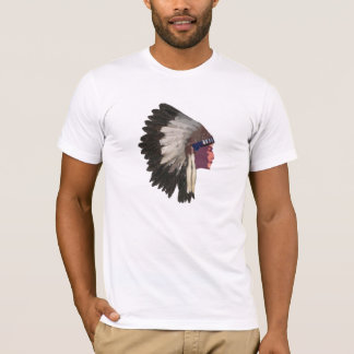 Native American Indian Chief Tshirt