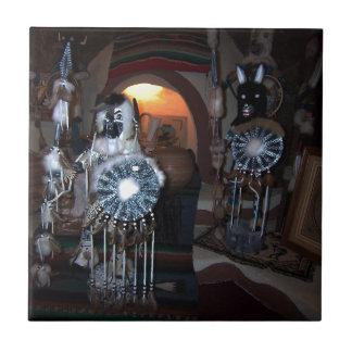Native American Kachina Dolls Tile