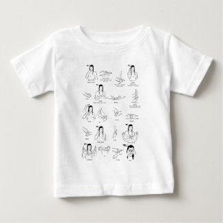 Native American  sign language Baby T-Shirt
