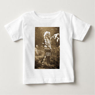 Native American Ute Sioux Vintage Baby T-Shirt