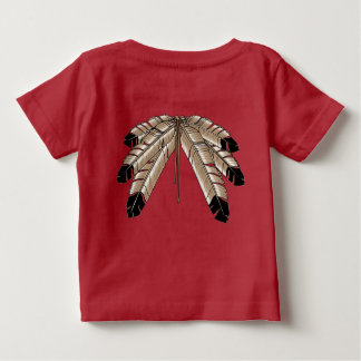 Native Baby Shirt Native Wildlife Art Baby Shirt