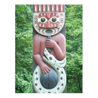 Native Carving Post Cards