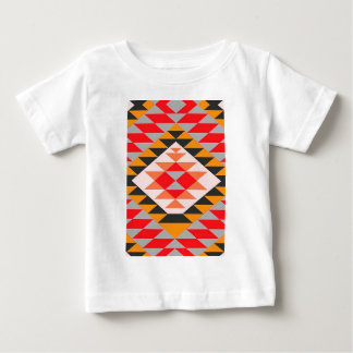 Native Contemporary Tribal Bright Print Baby T-Shirt