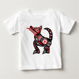 Native Design Wolf Graphic print Baby T-Shirt