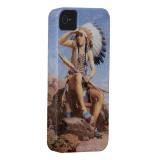 Native Indian Chief 1832 Blackberry Bold Case