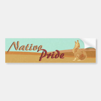 Native Pride Bumper Sticker