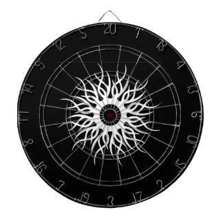 Native Sun Design Black Dart Board Set