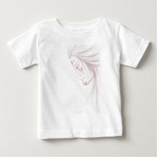 native tattoed woman baby T-Shirt