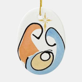 Nativity Christmas Ornament
