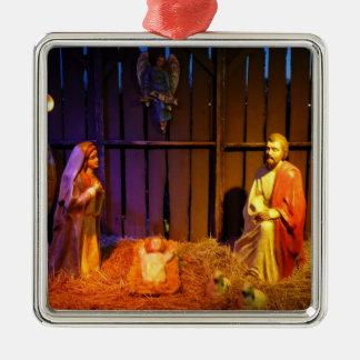 Nativity Scene Christmas Holiday Display Christmas Ornament