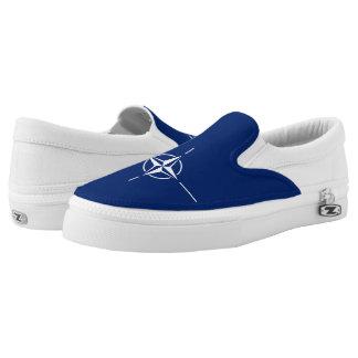 NATO Flag Slip On Shoes