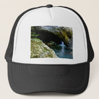 Natural Arch waterfall Trucker Hat