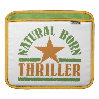 Natural Born Thriller custom iPad sleeve