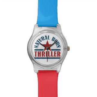 Natural Born Thriller custom watches