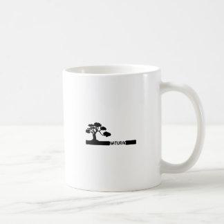 Natural, natural tree shape on grader. coffee mug