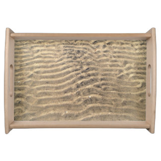 Natural Sand Pattern Serving Tray