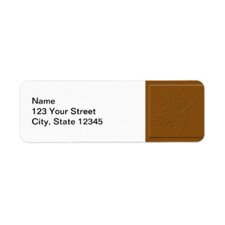 Natural Spice Return Address Label
