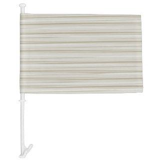 Natural stripes car flag