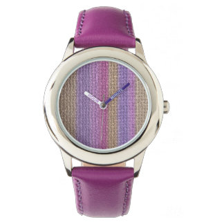 Natural Textured Mat Pattern Watch