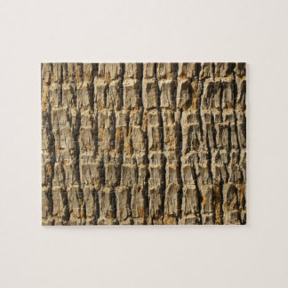 Naturally Cool Surfaces_Palm Tree Bark Jigsaw Puzzle