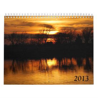 Nature 2013 calendar