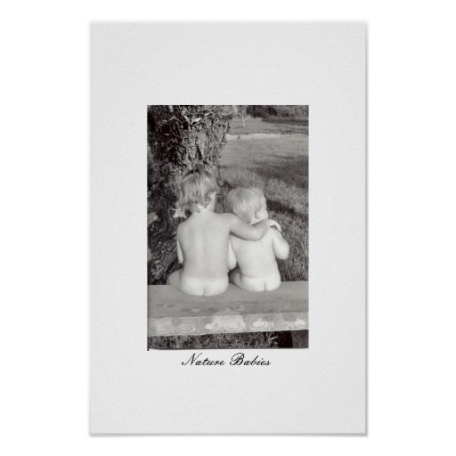 Nature Babies Posters