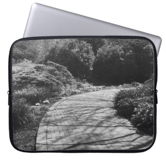 Nature in Black and White Computer Sleeve