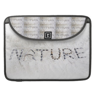 Nature in the Sand Sleeves For MacBook Pro