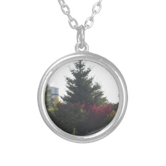 Nature lovers gifts Tree Flowers Template add TEXT Custom Necklace