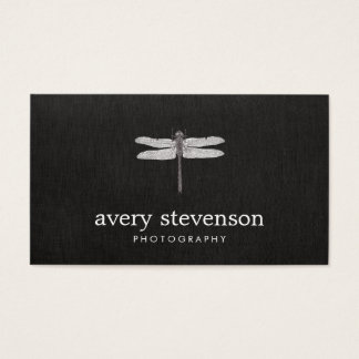 Nature Photography Dragonfly Business Card