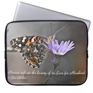 Nature reflects the Beauty of its... Laptop Sleeve
