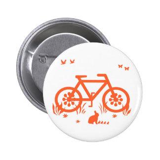 Nature Ride 6 Cm Round Badge