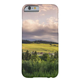 Nature Sunset Hills Landscape In Poland Barely There iPhone 6 Case