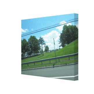 Nature Tree Green SkyView CherryHill NJ USA FUN 99 Canvas Print