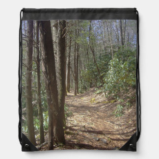 Nature Walk Drawstring Bag