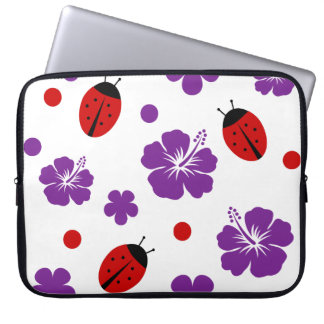 Nature Wildlife Ladybug Pattern Laptop Sleeve
